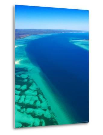 Great Sandy Straits and Fraser Island , Queensland, Australia-David Wall-Metal Print