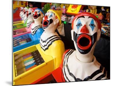 Laughing Clowns Side-Show, Rotorua, Bay of Plenty, North Island, New Zealand-David Wall-Mounted Photographic Print