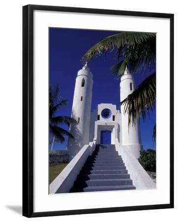 St. Peter Catholic Church, Long Island, Bahamas, Caribbean-Greg Johnston-Framed Photographic Print
