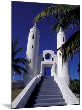 St. Peter Catholic Church, Long Island, Bahamas, Caribbean-Greg Johnston-Mounted Photographic Print