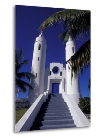 St. Peter Catholic Church, Long Island, Bahamas, Caribbean-Greg Johnston-Metal Print