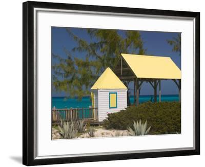 Windmills Plantation Beach House, Salt Cay Island, Turks and Caicos, Caribbean-Walter Bibikow-Framed Photographic Print