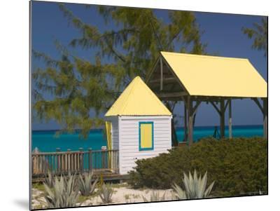 Windmills Plantation Beach House, Salt Cay Island, Turks and Caicos, Caribbean-Walter Bibikow-Mounted Photographic Print