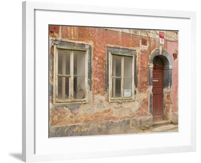 Old Building, Ceske Budejovice, Czech Republic-Russell Young-Framed Photographic Print