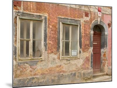 Old Building, Ceske Budejovice, Czech Republic-Russell Young-Mounted Photographic Print