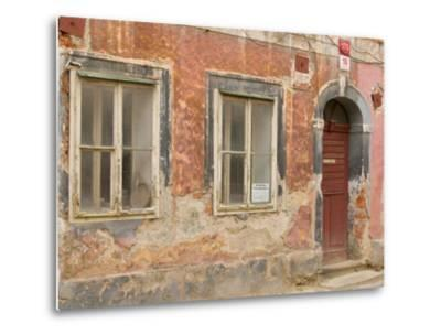 Old Building, Ceske Budejovice, Czech Republic-Russell Young-Metal Print