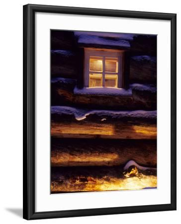 Finnish's Window, Lapland, Finland-Daisy Gilardini-Framed Photographic Print