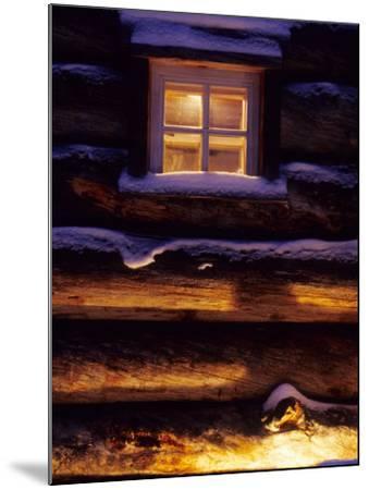 Finnish's Window, Lapland, Finland-Daisy Gilardini-Mounted Photographic Print