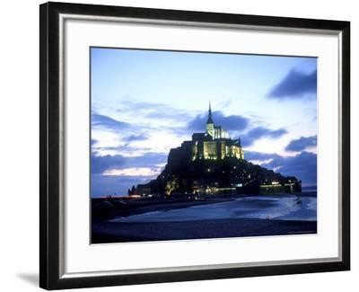 Mont St. Michel Fortress, Normandy, France-Bill Bachmann-Framed Photographic Print
