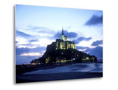 Mont St. Michel Fortress, Normandy, France-Bill Bachmann-Metal Print
