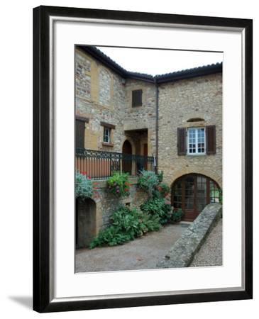 Entrance to Wine Tasting Room in Chateau de Cercy, Burgundy, France-Lisa S^ Engelbrecht-Framed Photographic Print