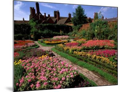 Elizabethan Knot Garden, Shakespeare's Home, Stratford-on-Avon, England-Nik Wheeler-Mounted Photographic Print