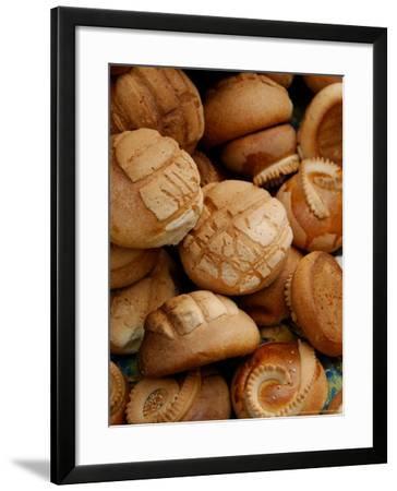 Fresh Bread Rolls, Lake Atitlan, Solola, Western Highlands, Guatemala-Cindy Miller Hopkins-Framed Photographic Print