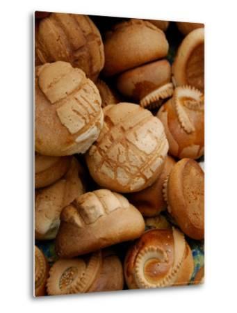 Fresh Bread Rolls, Lake Atitlan, Solola, Western Highlands, Guatemala-Cindy Miller Hopkins-Metal Print