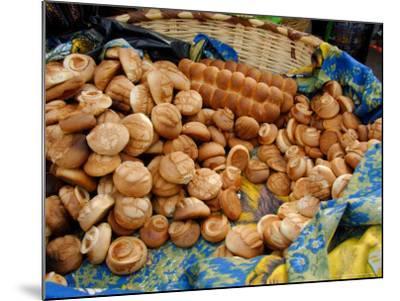 Fresh Bread Rolls, Lake Atitlan, Solola, Western Highlands, Guatemala-Cindy Miller Hopkins-Mounted Photographic Print