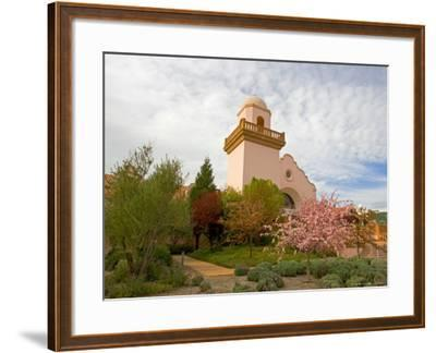 Groth Winery, Napa Valley, California, USA-Julie Eggers-Framed Photographic Print