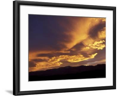 Clouds at Sunset from Artists Drive, Death Valley National Park, California, USA-Jamie & Judy Wild-Framed Photographic Print