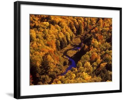 Big Carp River, Porcupine State Park, Michigan, USA-Chuck Haney-Framed Photographic Print