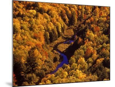 Big Carp River, Porcupine State Park, Michigan, USA-Chuck Haney-Mounted Photographic Print