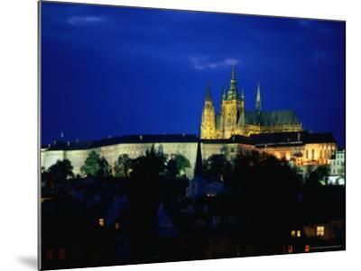 Historic Prague Castle or Hradcany Castle, Prague, Central Bohemia, Czech Republic-Jan Stromme-Mounted Photographic Print
