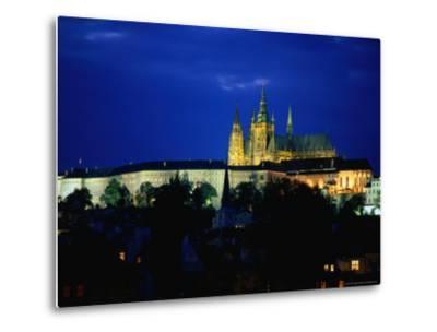 Historic Prague Castle or Hradcany Castle, Prague, Central Bohemia, Czech Republic-Jan Stromme-Metal Print