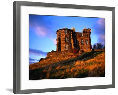 Exterior of City Observatory on Calton Hill, Edinburgh, United Kingdom-Jonathan Smith-Framed Photographic Print