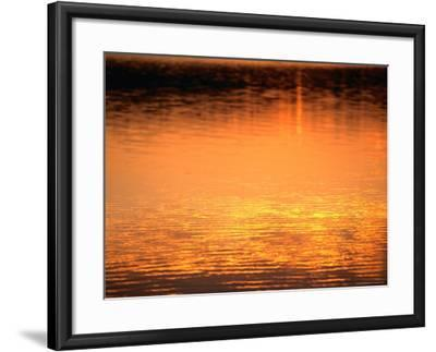 Evening Reflections on Lake Itasca, Itasca State Park, USA-John Elk III-Framed Photographic Print
