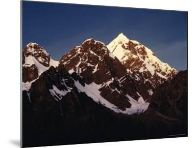 Mountain Peak with Snow, Puno, Vilcanota, Cuzco, Peru-Richard I'Anson-Mounted Photographic Print