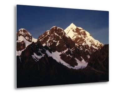 Mountain Peak with Snow, Puno, Vilcanota, Cuzco, Peru-Richard I'Anson-Metal Print