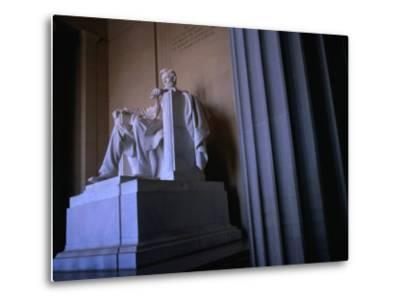 Lincoln Memorial Statue, Washington Dc, USA-Rick Gerharter-Metal Print