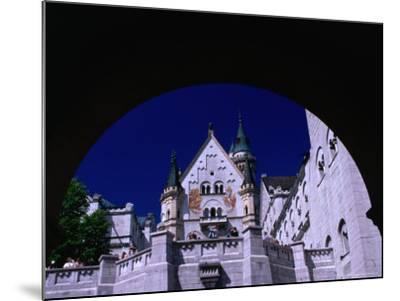 King Ludwig II's Neuschwanstein Castle, Fussen, Bavaria, Germany-Johnson Dennis-Mounted Photographic Print