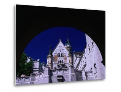 King Ludwig II's Neuschwanstein Castle, Fussen, Bavaria, Germany-Johnson Dennis-Metal Print