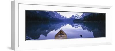 Lake Maligne, Jasper National Park, Alberta, Rockies, Canada-Peter Adams-Framed Photographic Print