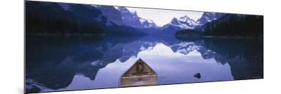 Lake Maligne, Jasper National Park, Alberta, Rockies, Canada-Peter Adams-Mounted Photographic Print