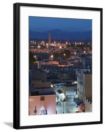 Entrance to Town Souk, Ouarzazate, Atlas Mountains, Morocco, North Africa-Walter Bibikow-Framed Photographic Print