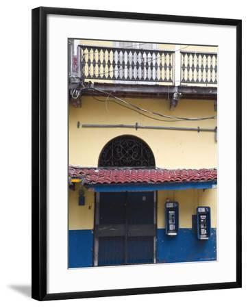 Panama, Panama City, House in Casco Viejo-Jane Sweeney-Framed Photographic Print