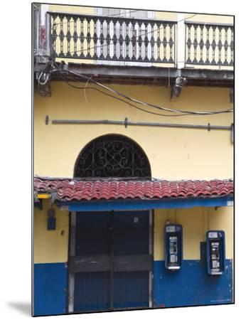 Panama, Panama City, House in Casco Viejo-Jane Sweeney-Mounted Photographic Print