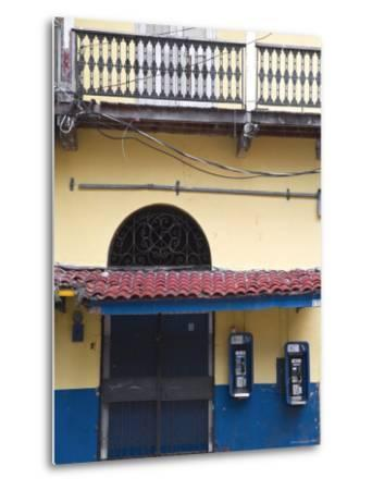 Panama, Panama City, House in Casco Viejo-Jane Sweeney-Metal Print