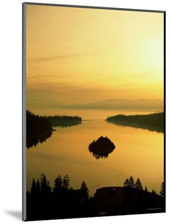 Lake Tahoe at Dawn, Tahoe, Nevada, USA-Steve Vidler-Mounted Photographic Print