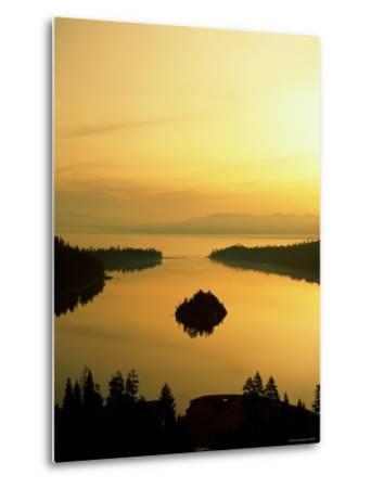 Lake Tahoe at Dawn, Tahoe, Nevada, USA-Steve Vidler-Metal Print