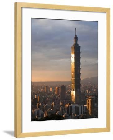 Taipei 101, Taipei, Taiwan-Michele Falzone-Framed Photographic Print