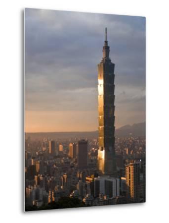 Taipei 101, Taipei, Taiwan-Michele Falzone-Metal Print