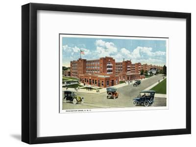 Bridgeport, Connecticut - Exterior View of the Remington Arms, UMC-Lantern Press-Framed Art Print