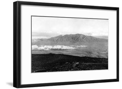 Maui, Hawaii - View from the Top of Haleakala Photograph-Lantern Press-Framed Art Print
