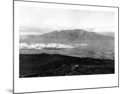 Maui, Hawaii - View from the Top of Haleakala Photograph-Lantern Press-Mounted Art Print