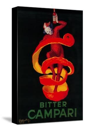 Bitter Campari Vintage Poster - Europe-Lantern Press-Stretched Canvas Print