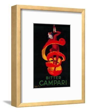 Bitter Campari Vintage Poster - Europe-Lantern Press-Framed Art Print