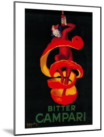 Bitter Campari Vintage Poster - Europe-Lantern Press-Mounted Art Print