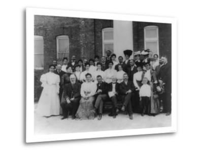 Carnegie and Tuskegee Institute Faculty Photograph - Tuskegee, AL-Lantern Press-Metal Print
