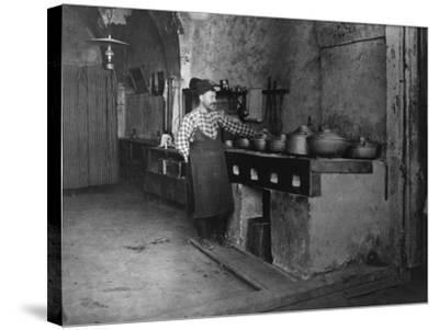 Food Cooked in Turkish Restaurant Photograph - Jerusalem, Palestine-Lantern Press-Stretched Canvas Print